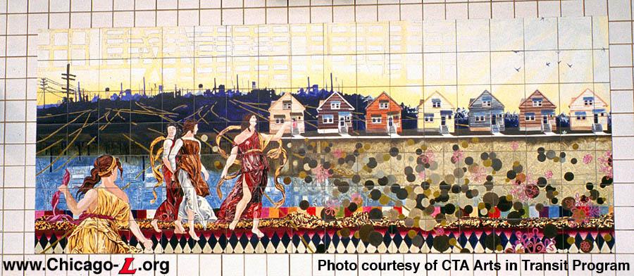 Chicago L Org Arts In Transit Station Artwork Guide