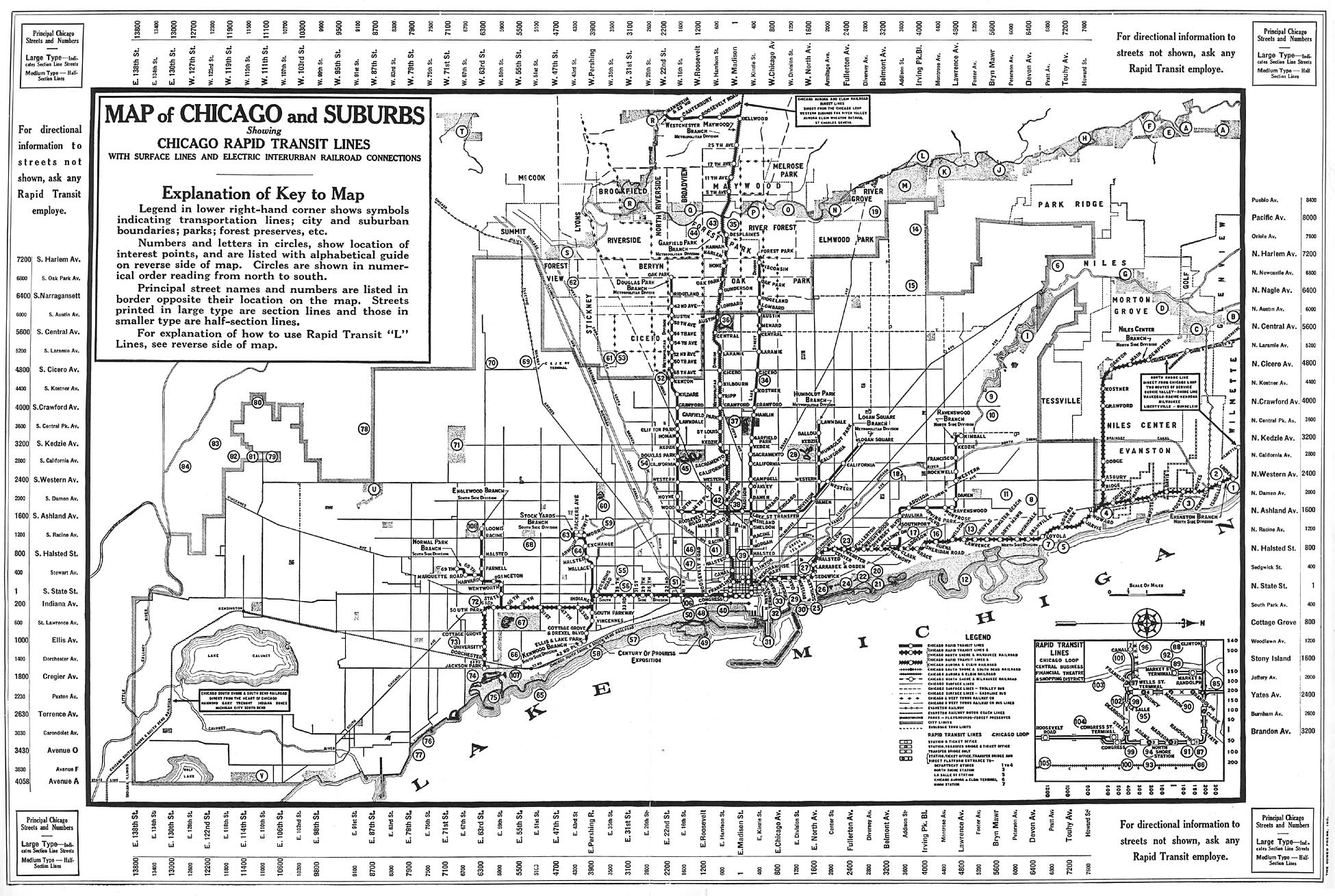 Chicago Lorg System Maps Route Maps - Chicago map northwest suburbs