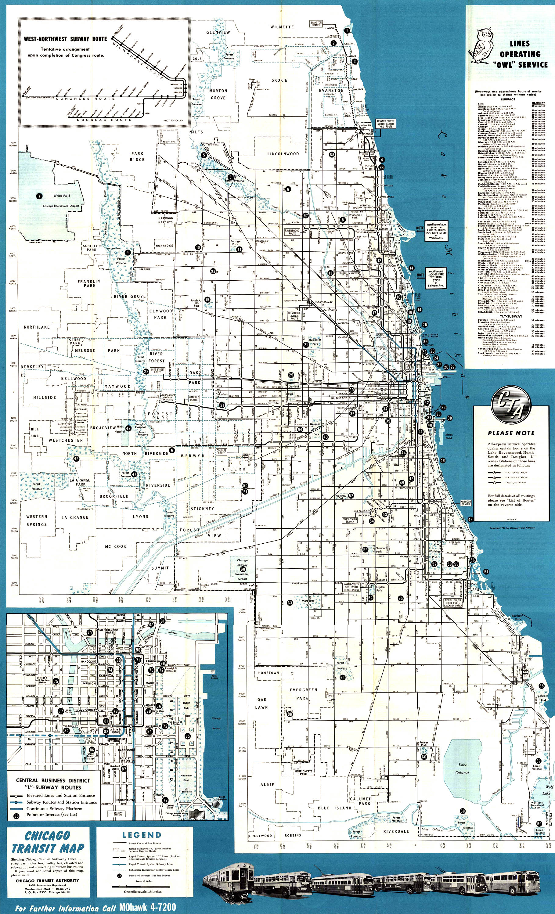 Chicago L System Maps Route Maps
