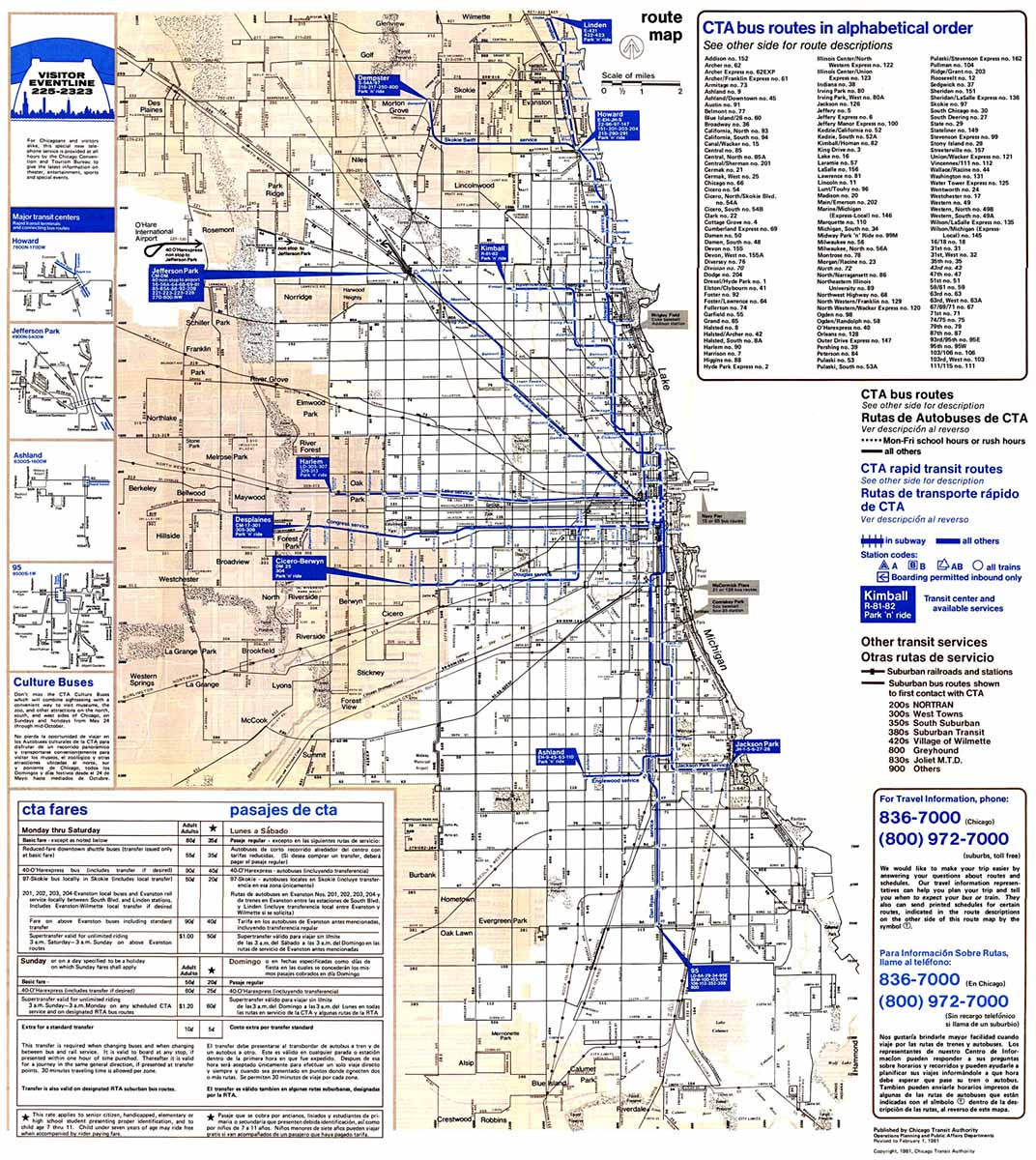 Chicago ''L''.org: System Maps   Route Maps