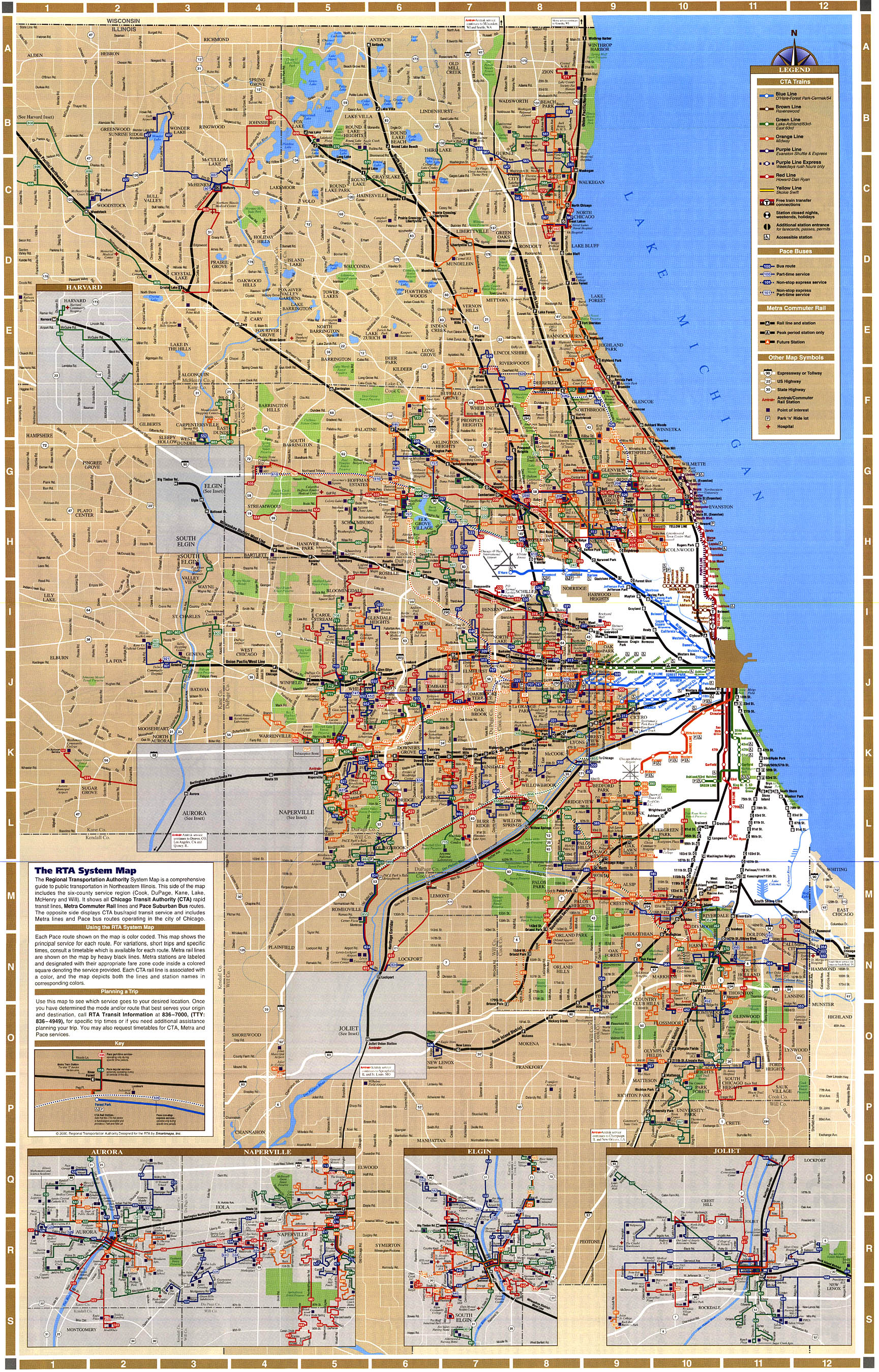 Nyc subway 6 line map zone