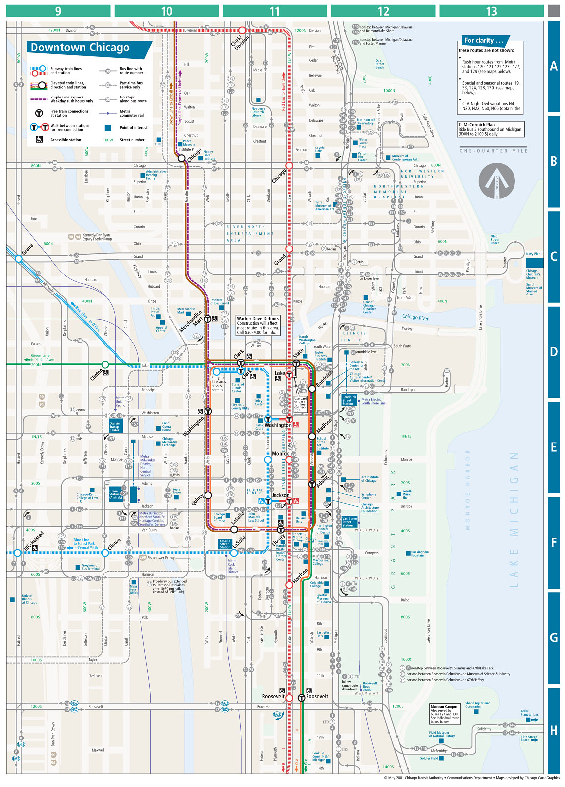 Diagram Album Cta Map Chicago Download More Maps Diagram And - Chicago map download
