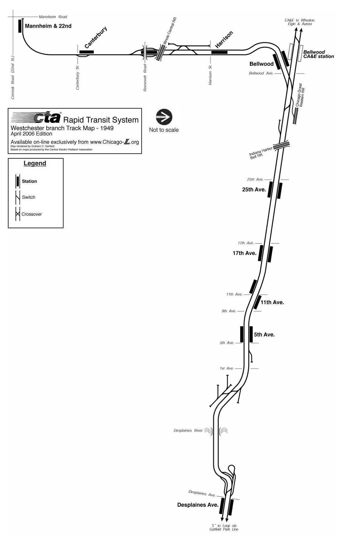 Chicago Lorg System Maps  Track Maps