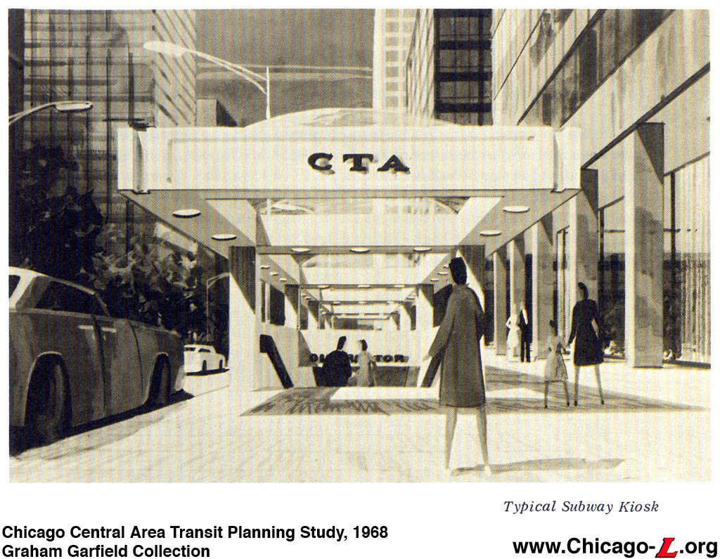 Chicago ''L''.org: Transit Plans - Chicago Central Area Transit ...