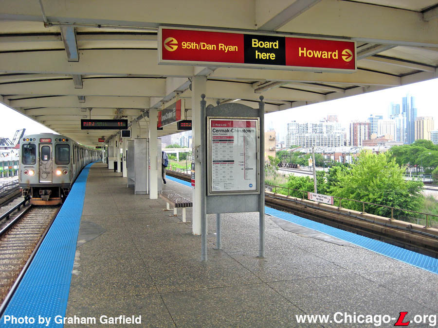 Chicago ''L'' org: Stations - Cermak-Chinatown