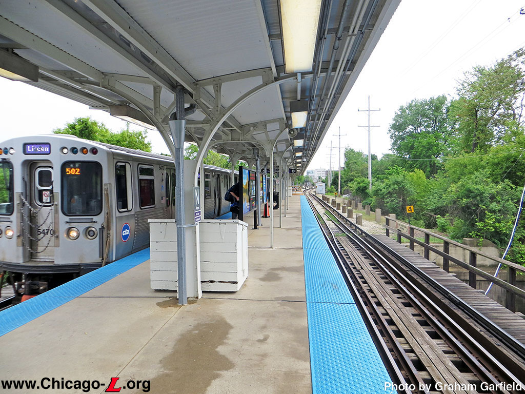 Chicago L Org Stations Noyes