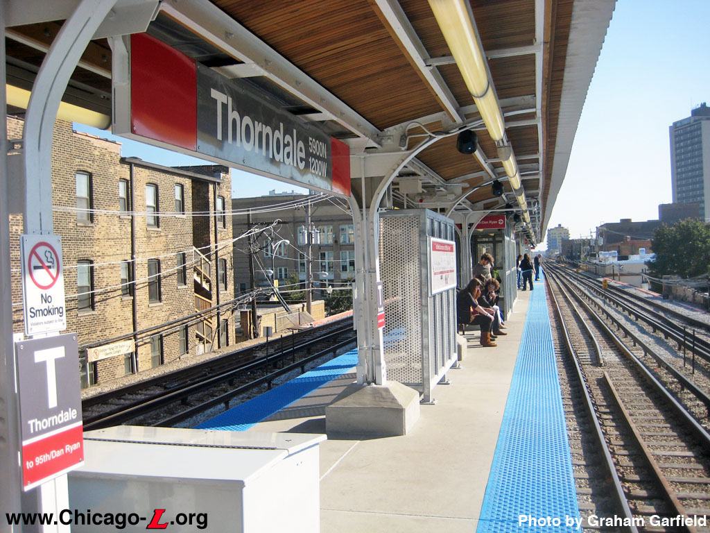 Chicago L Org Stations Thorndale