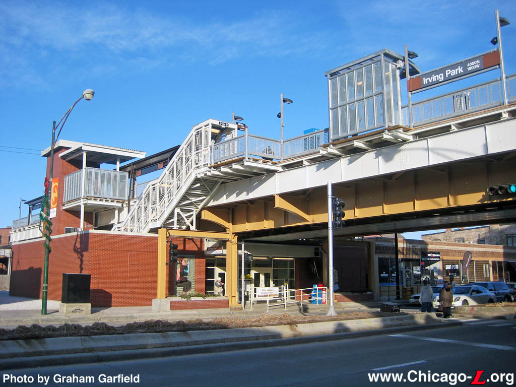 Chicago l stations irving park photo sciox Gallery