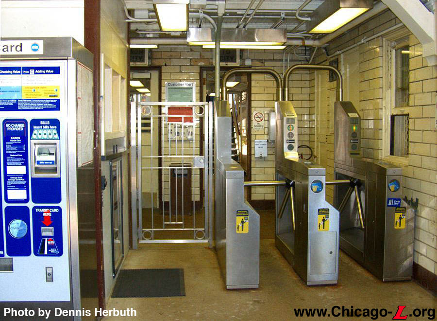 Chicago L Org Stations Paulina