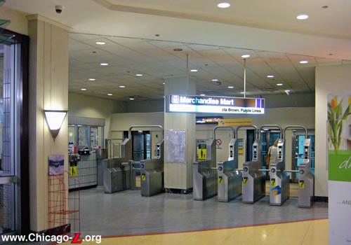 Chicago L Org Stations Merchandise Mart