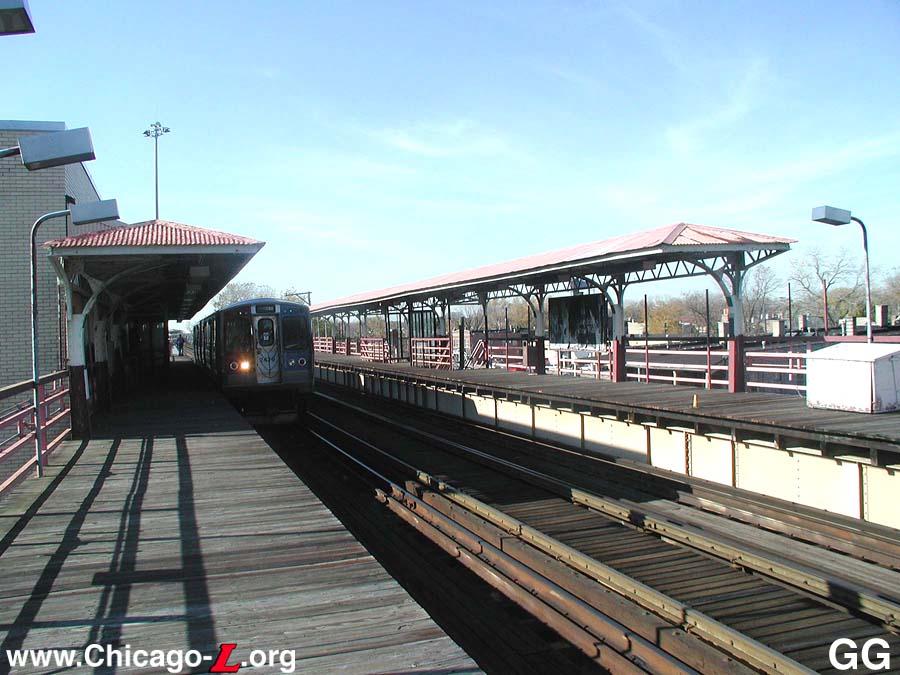 Chicago Lorg Historic L Station Tour 2001