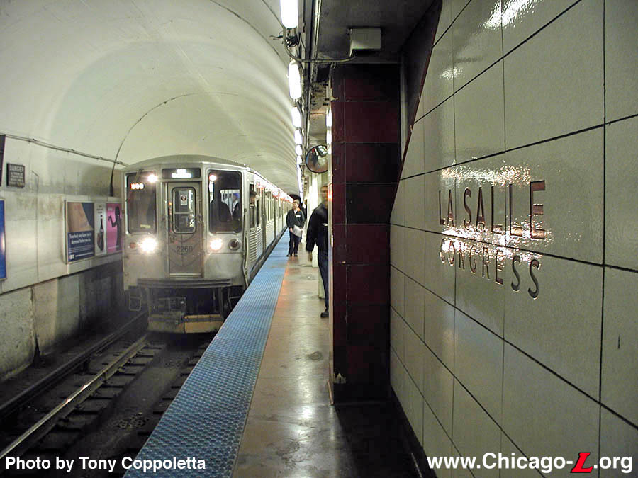 Chicago L Org Stations Lasalle Congress