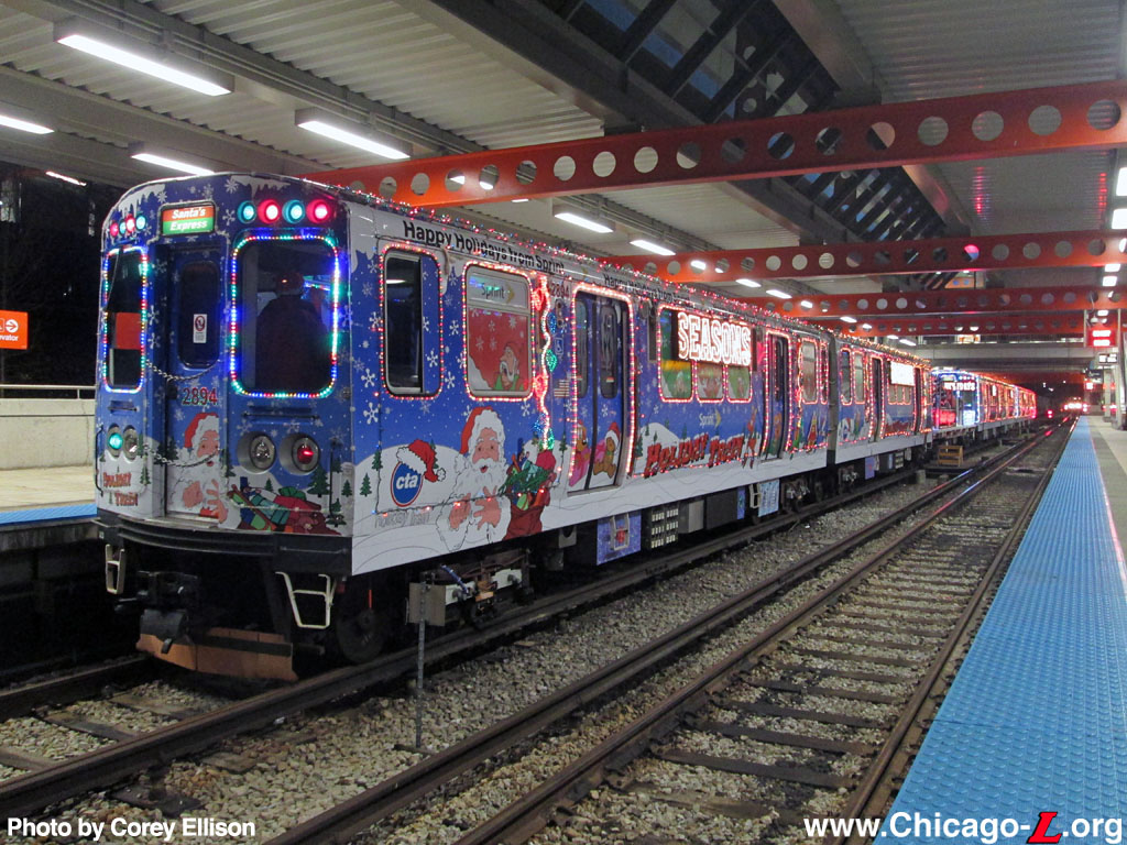 Chicago ''L''.org: Picture Gallery - Holiday Train Gallery 4
