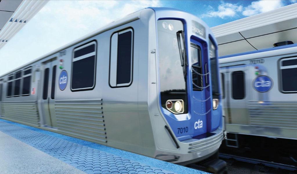 Cta Blue Line New Cars
